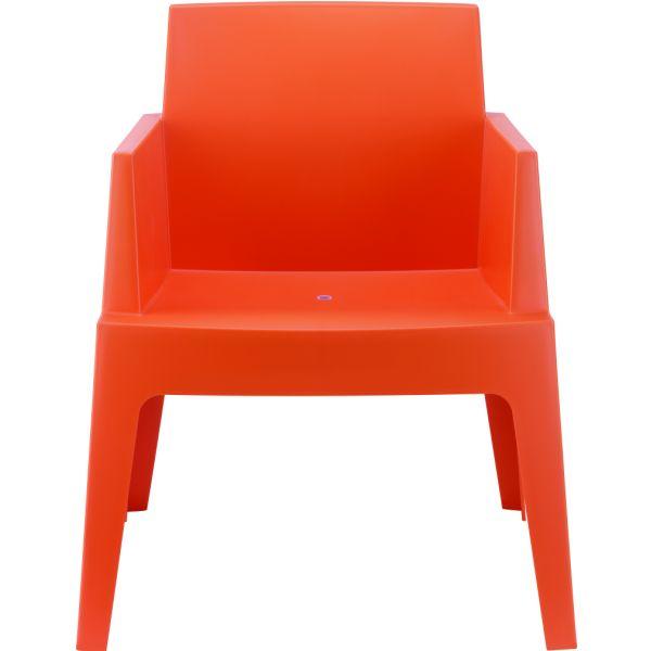 Designstoel box oranje 1