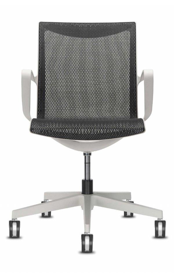 Kantoorstoel Soul Air met armleggers en mesh rug van Sitland (1)