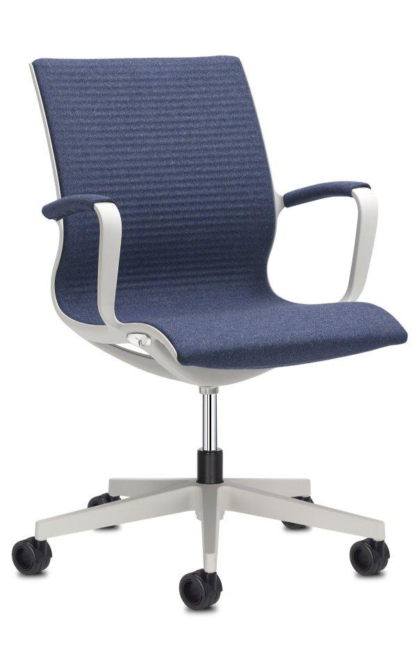 Bureaustoel Soul Techno met armleggers. De kantoorstoel voor het nieuwe zitten in elegante vormgeving (1)