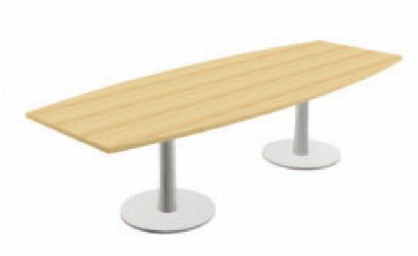 Voordelige vergadertafel Quadrifoglio 280x110cm voor 8 personen | degelijke zware kwaliteit (1)