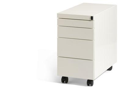 Smal ladenblok Elite ELS460 verrijdbaar model 3-laden   leverbaar in zwart, aluminium, wit en antraciet (1)