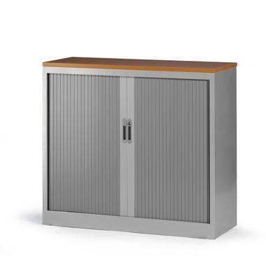 roldeurkast 105x120x45cm aluminium ral 9006