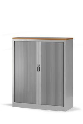 roldeurkast 145x120x45cm aluminium Ral9006