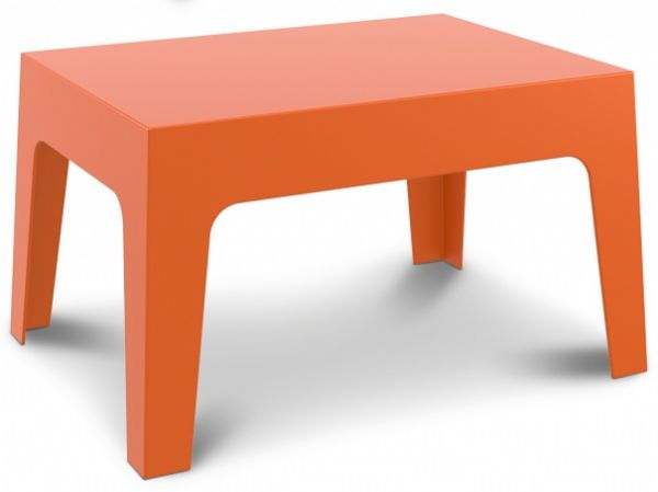 Terras tafel BOX 100% recyclebaar PP oranje voor in -outdoor (1)