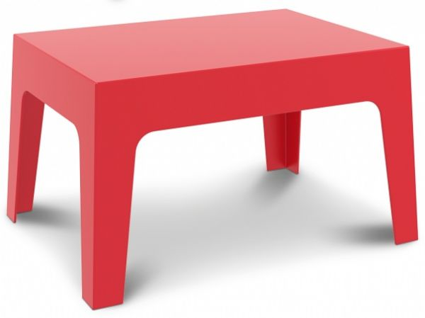 Terrastafel BOX rood PP (1)