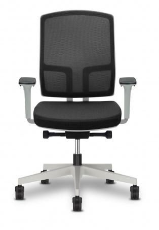4YOU bureaustoel met mesh rug bekleding | stijlvolle bureau stoel en zeer gebruiksvriendelijk (1)